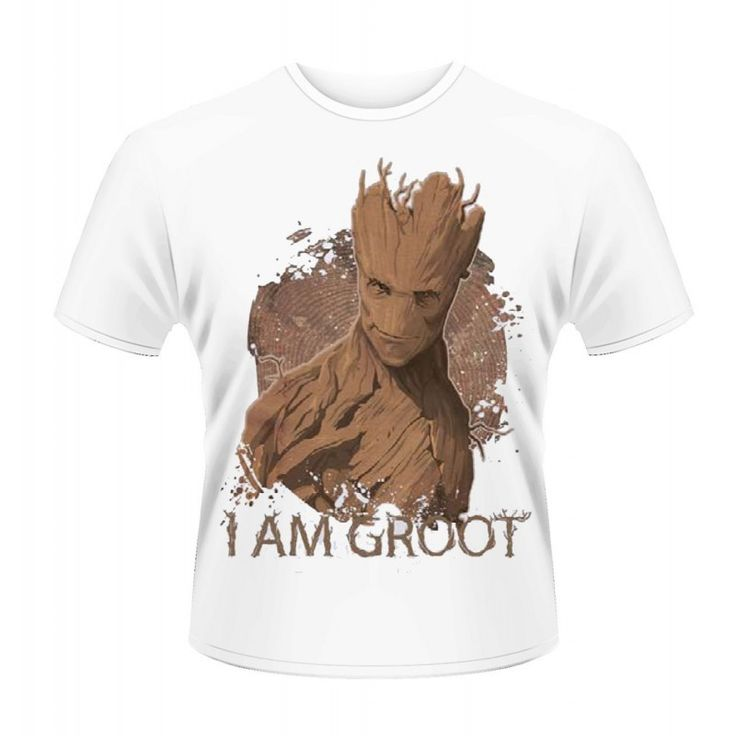 MARVEL GUARDIANS OF THE GALAXY I AM GROOT T-Shirt