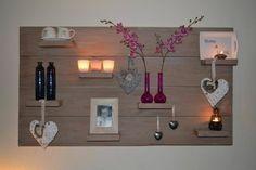 Leuk wandbord voor aan de muur van steigerhout of sloophout