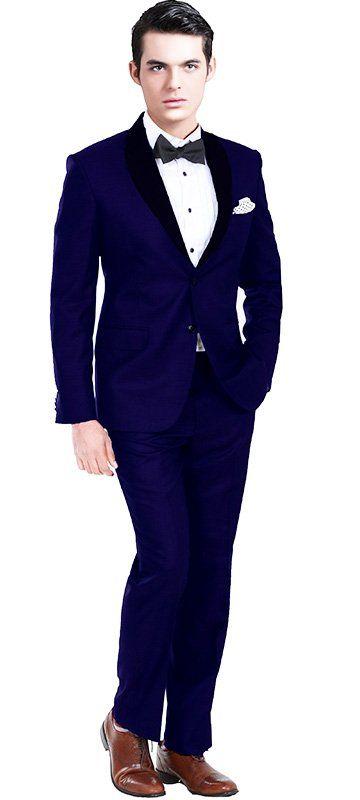 Royal Blue Custom Tuxedo