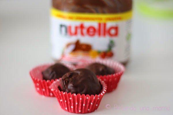Me Encanta el Chocolate: COMO HACER TRUFAS DE NUTELLA??