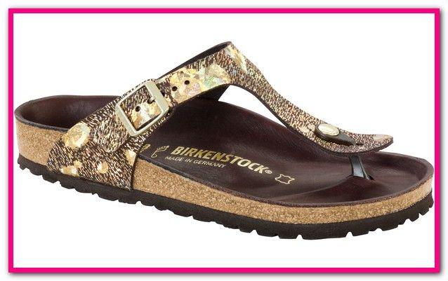 separation shoes caba5 daef4 Birkenstock Zehentrenner Gizeh Gold-Birkenstock Zehentrenner ...