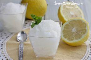 Il Sorbetto al Limone è perfetto per la stagione estiva..fresco e dissetante. Solo 4 ingredienti per averlo cremoso, delicato e facilissimo da preparare