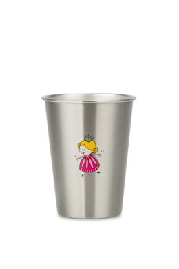 NEW LOOK PRINCESS 350ml illustrated stainless steel cup from ecococoon RRP $10.95