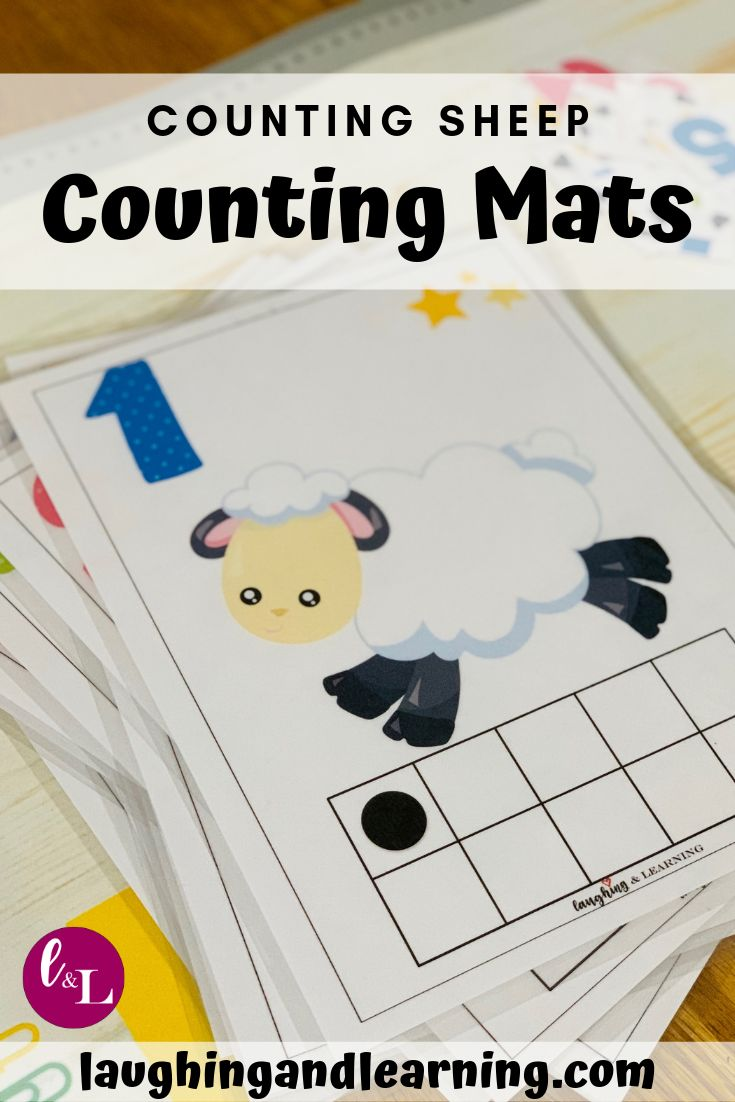 Counting Sheep Number Sense Numeration Activities Laughing Learning Kids Math Activities Preschool Activities Kindergarten Activities [ 1102 x 735 Pixel ]