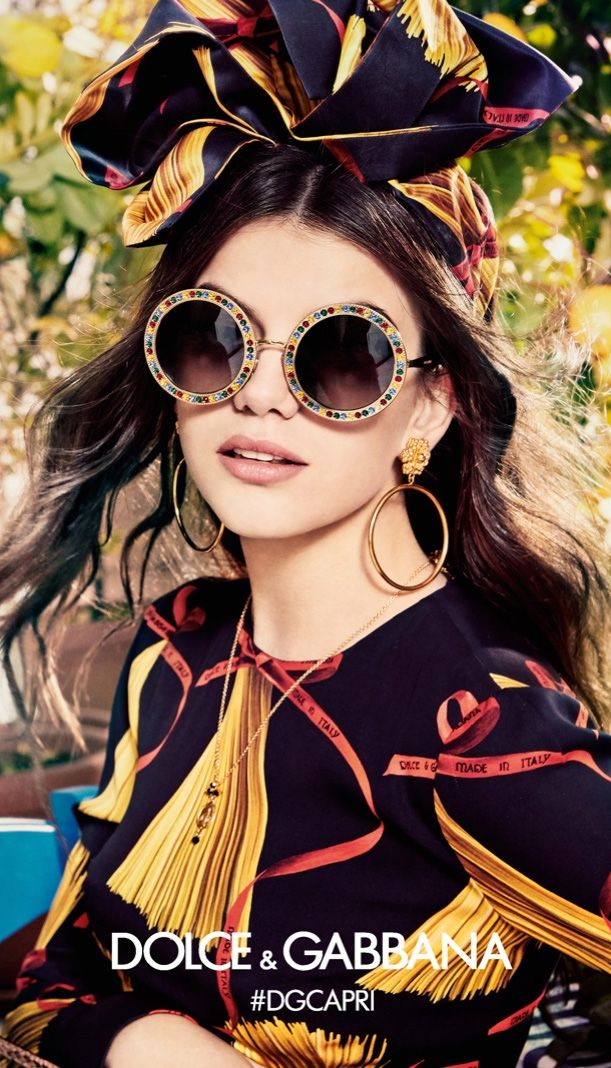 113510bd8de Dolce   Gabbana eyewear campaign
