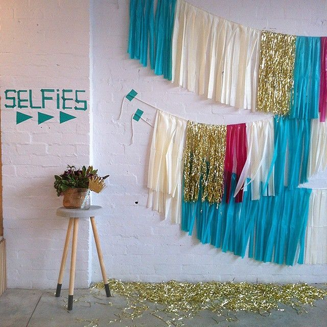 """We love this idea of a selfie spot at your wedding by @two_ofakindevents. It's these fun, and unique ideas that make having a wedding stylist so awesome!…"""