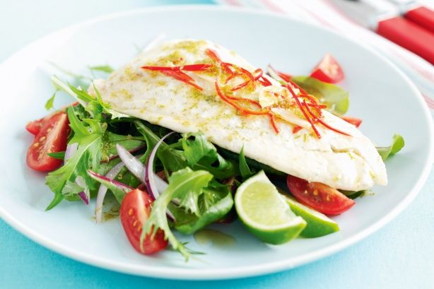 Snapper with Asian Green Salad