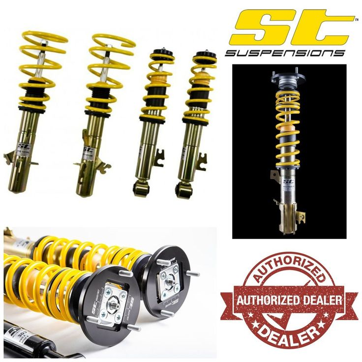 Same Business Day Shipping ST Suspensions X-Height Adjustable Coilovers - 2009+ Audi A4 S4 - 10+ A5 S5 (B8)
