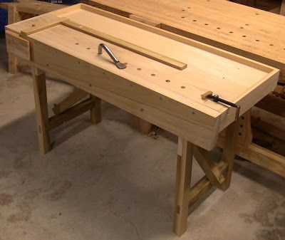 Close Grain: Portable Workbench, part 2 | Woodworking Benches | Pinterest | Portable workbench ...