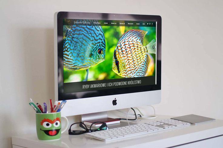 Mobilna strona internetowa z katalogiem ryb akwariowych