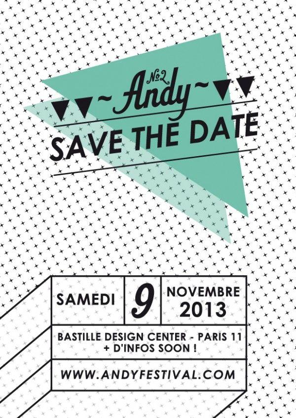 My Pola sera présent au Festival Andy ce week-end à Paris!!! save-the-date andy festival mariage