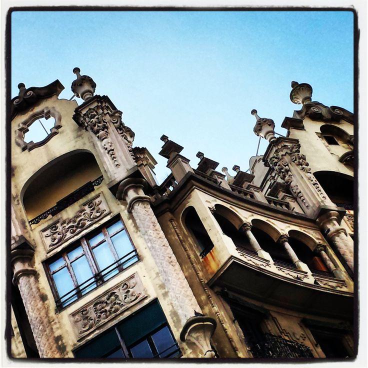 Gothic towers-North Spain - Sans Sebastion
