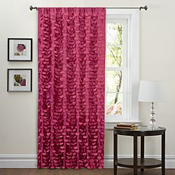 Bought these for Abby's room.  @Overstock.com - Lush Decor Pink 84-inch Lilian Curtain Panel - Add new life to your windows with this pink 84-inch curtain panel made of patterned faux-silk polyester. The three-inch pocket of this energy-saving curtain panel slides onto the rod for easy installation. It also comes with a matching tieback.  https://www.overstock.com/Home-Garden/Lush-Decor-Pink-84-inch-Lilian-Curtain-Panel/6537421/product.html?CID=214117 $40.49