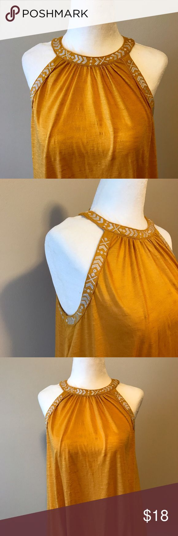 Rue 21 Mustard Colored Tank Top New with tags. Very soft fabric. Rue 21 Tops Tank Tops