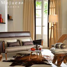 Современная краткая творческий торшер столовая уединение торшер спальне шерсть деревянный торшер бесплатная доставка(China (Mainland))