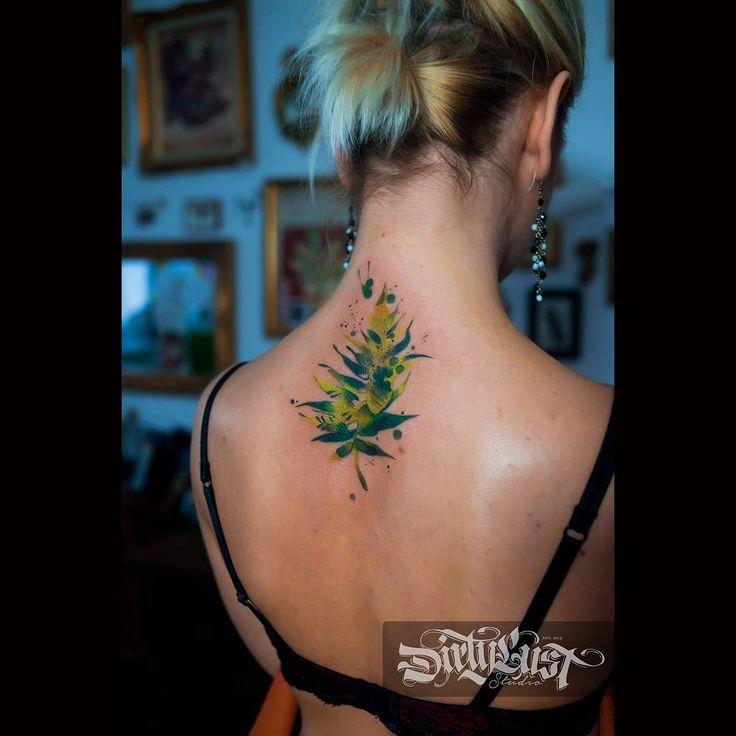 Акварельные папоротник:) #татуировка #тату #inktattoo #ink #tattooink #tattoo #warszawa  #poland #ukraina #dirtylust #warszawdirtylust #tattoocolor #tattoocolorfull #art  #tattoozelenska #awesometattoos0 #alikate1000 #radtattoos #wctattoos #inkstinkctsubmission