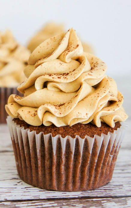 Chocolate Espresso Cupcakes with Espresso Buttercream