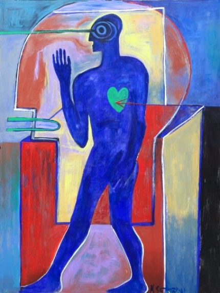 The thinking man has got a green heart by  Kofi Setordji-digest.bellafricana
