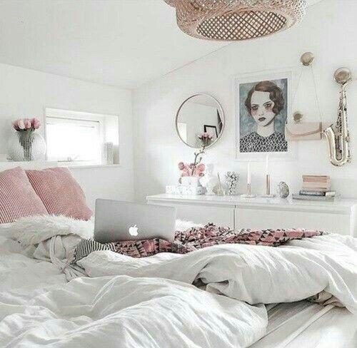 Quarto, rosa e cama picture #bed picture #bedroom   – Bedroom's