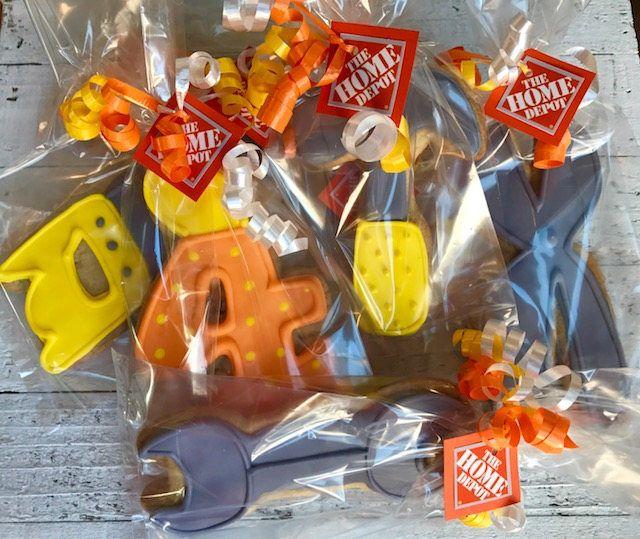 Best 25 construction party favors ideas on pinterest for Gable decorations home depot