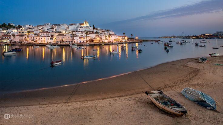 """Fish Boats"" - Ferragudo Algarve Portugal"