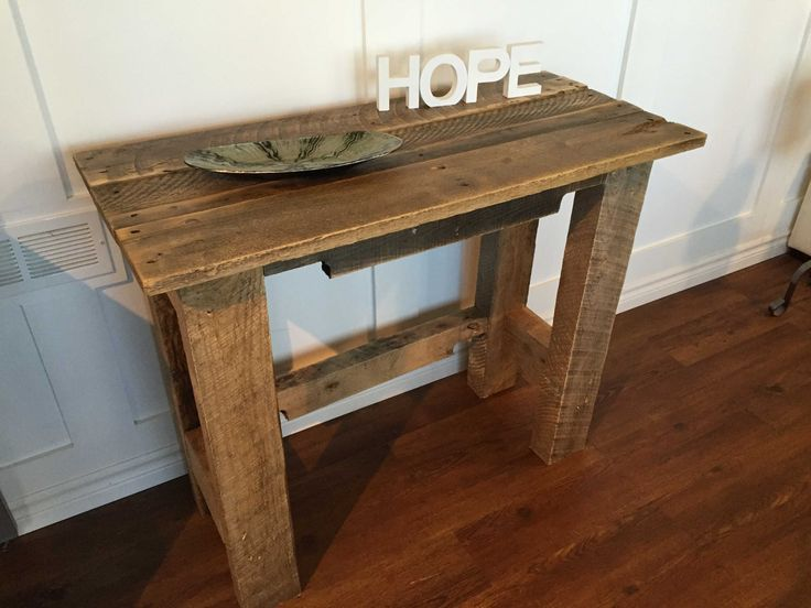 Made from an abnormally large pallet that was made to carry a 15' industrial dishwasher.
