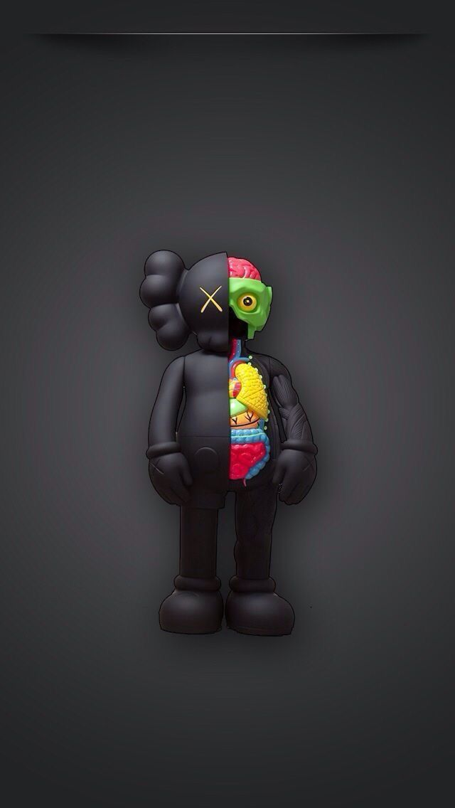 Pin By Arditto Raharjo On Iphone X Wallpaper With Images Kaws