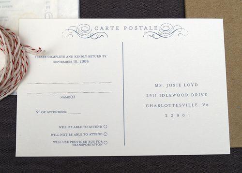 Best Weddingstationary Images On Pinterest Invitation Ideas - Free rsvp postcard template