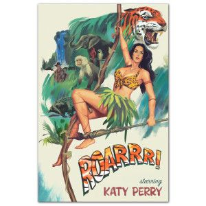 Katy Perry Roar Poster $25