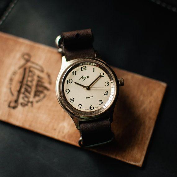 Mens watches Mens vintage watch Soviet watch Watch от Trulesorub