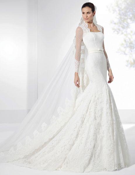 20 vestidos de novia con plumeti 2017 a los que no te podrás resistir. ¡Toma nota! Image: 3