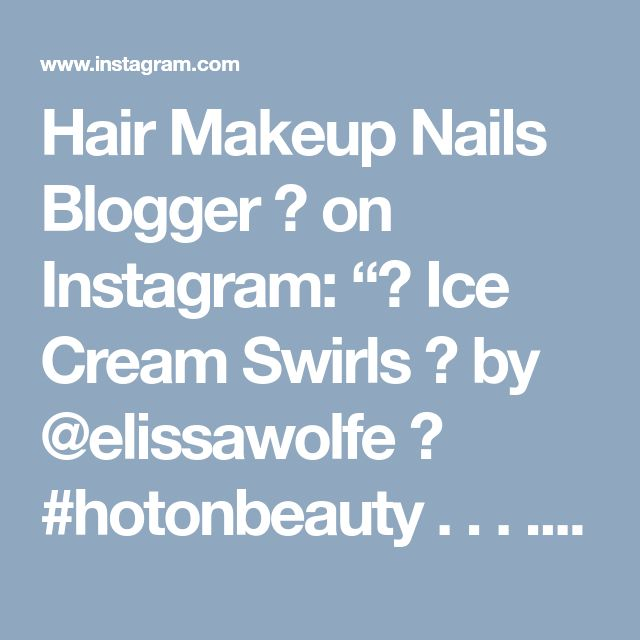 "Hair Makeup Nails Blogger 💋 on Instagram: ""💜 Ice Cream Swirls 💜 by @elissawolfe 🙆 #hotonbeauty . . . . #fallhair #fallhairtrends #hairbun #fallupdo"" • Instagram"