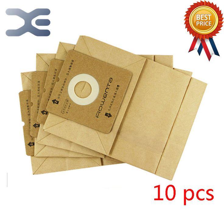 10Pcs High Quality Adaptation Electrolux Vacuum Cleaner Accessories Dust Bag Paper Bag ZW1100-101 / 1100-102 #Affiliate