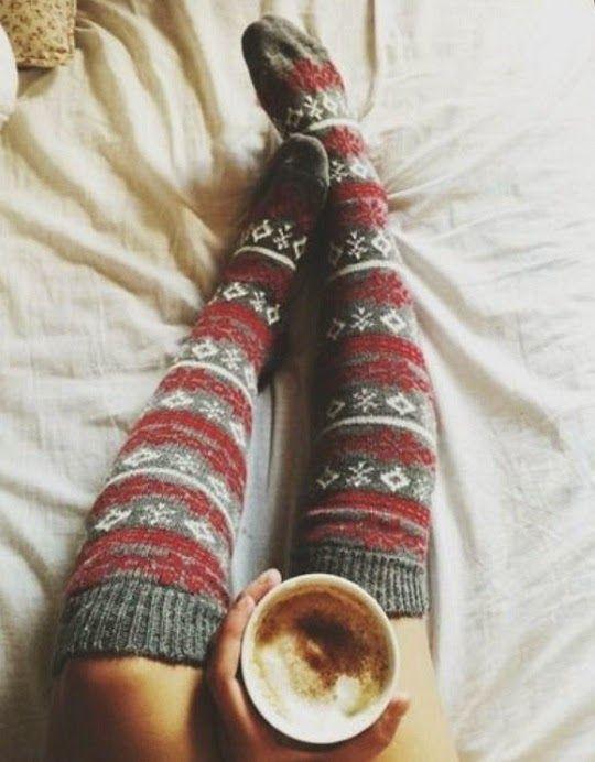 Knee High #Cozy #Socks