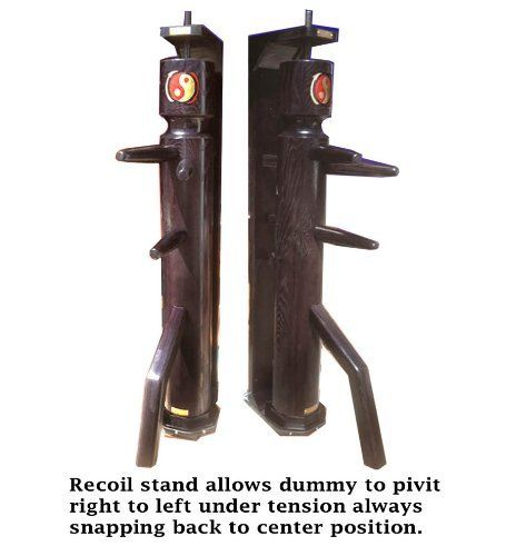 JKD Wooden Dummy with Recoil Reaction Stand by warriormartialartsupply.com. Save 6 Off!. $999.00. Leaders in the industry of hand made high quality Martial Arts equipment. Any questions on our products contact us at www.warriormartialartsupply.com  1(570) 619-5147  THIS SOLID HAND CRAFTED DUMMY IS DESIGNED FOR THE TRADITIONAL JKD PRACTITIONER. DUMMY ARMS AND LEG ARE MADE FROM 100% HARDWOOD ASH. TRUNK IS MADE WITH A DOUGLAS FUR CORE AND HARDWOOD ASH 1.5 INCH THICK EXTERIOR....