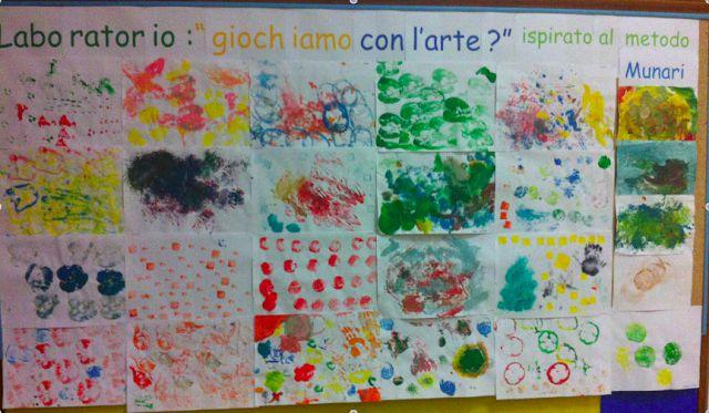 Scuola dell'Infanzia Luciano Scotti: LABORATORIO MUNARI