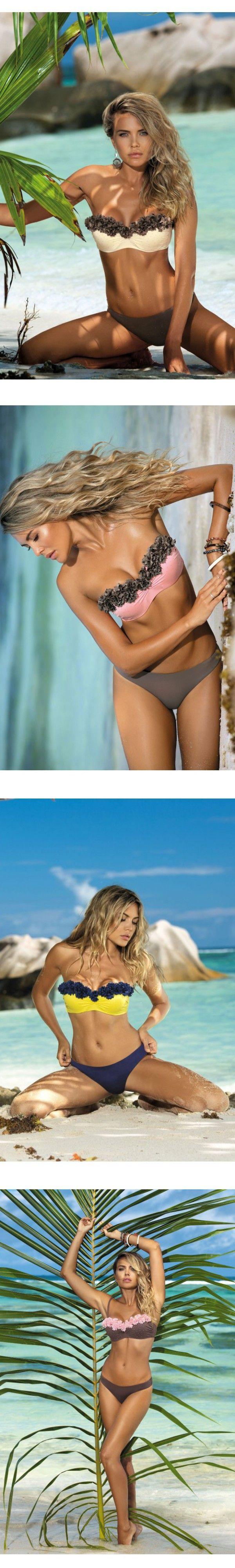 2016 summr women bikini swimsuit maillot de bain neoprene bikini high waist swimsuit brazilian bikini $6.98