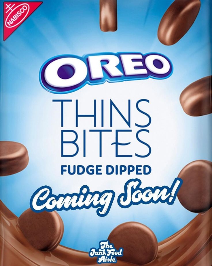 Oreo Thins Bites Fudge-Dipped Are Coming Soon, and in 3 Different Flavors