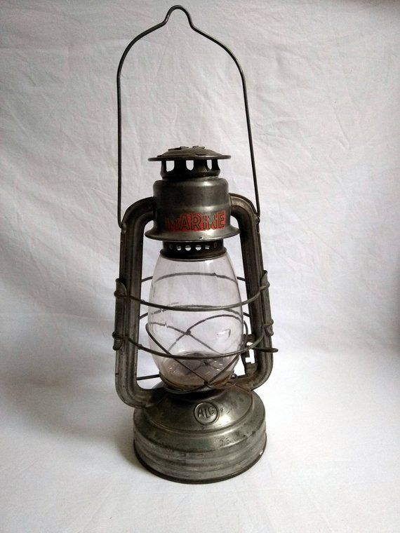 Lampe Tempete Alg Grise Marine Ancienne Lampe A Petrole Etsy Novelty Lamp Hurricane Lamps Lamp
