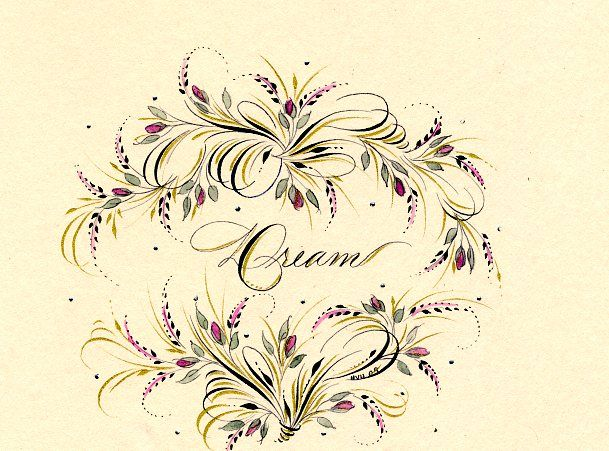1000 Images About Tintenzauber On Pinterest Calligraphy