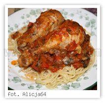 Wielkie Żarcie - Przepis - Kurczak Cacciatore
