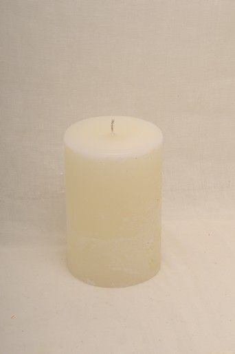 WAKS NATURE lavender pillar candle