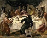The Last Supper c. 1568  by El Greco (Domenikos Theotokopoulos)