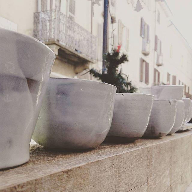 Tazzineinthestreet #ninaceramica #noel #ceramics #