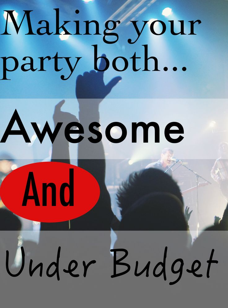 There is no reason that it should cost you an arm and a leg just to put on a great party!  Click below to find out how I'd run an awesome shin-dig without breaking the bank!  http://thecodetoriches.com/your-party-under-budget/