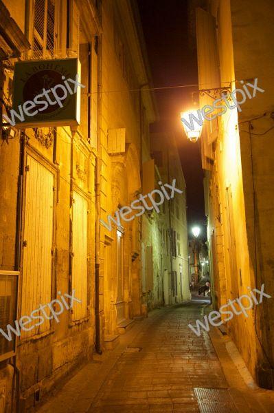 Paris Arles laneway, France.