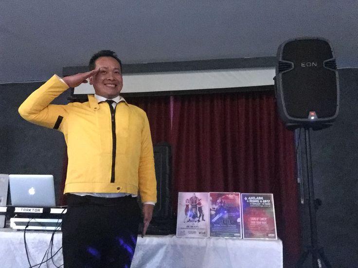 Doing a little salute to 80s music tonight at the Keswick Army Barracks!  LOC & LOL www.loctran.com.au #adlfringe #loctran