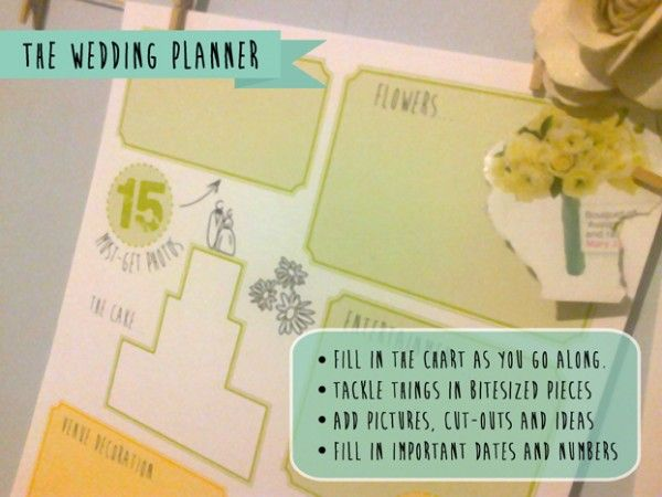 free printable wedding planner