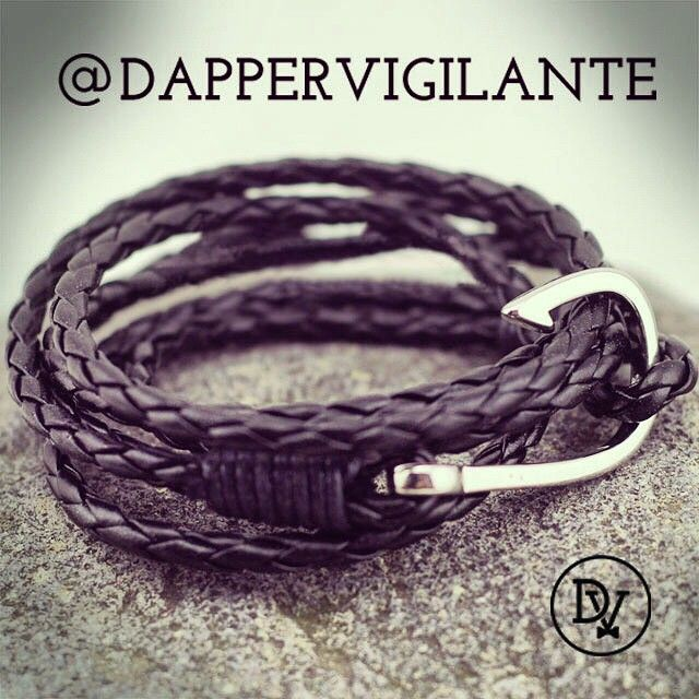 #jewelry #accessories #menswear #fashion  Find your favorite #bracelet here: http://dappervigilante.com/