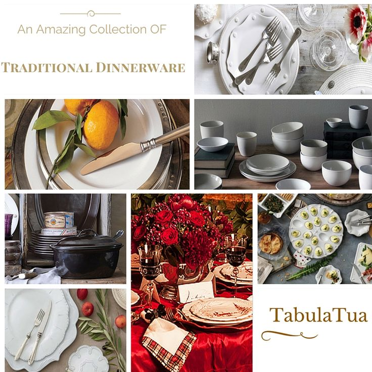An Amazing collection of #handcrafted #traditional #dinnerware sets for you. Shop your favorite #luxury traditional dinnerware or everyday dinnerware from the premiere store TabulaTua. #TraditionalDinnerware